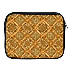 Luxury Check Ornate Pattern Apple Ipad 2/3/4 Zipper Cases by dflcprints