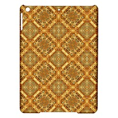 Luxury Check Ornate Pattern Ipad Air Hardshell Cases by dflcprints