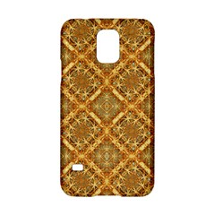 Luxury Check Ornate Pattern Samsung Galaxy S5 Hardshell Case  by dflcprints