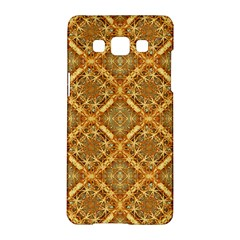 Luxury Check Ornate Pattern Samsung Galaxy A5 Hardshell Case  by dflcprints