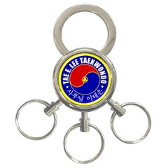 Taeelee Keychain 3ring 3 Ring Key Chain by BankStreet
