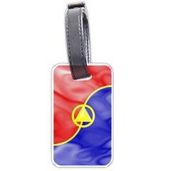 MooKwang-LuggageTag Luggage Tag (Two Sides) by BankStreet