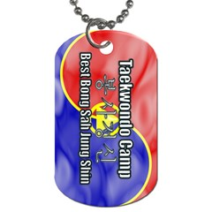 TaeELeeCamp-TopBongSa Dog Tag (Two-sided)  by BankStreet