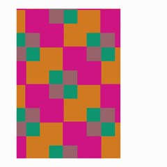 Squares    Small Garden Flag by LalyLauraFLM