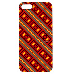 Distorted Stripes And Rectangles Pattern      apple Iphone 5 Hardshell Case With Stand by LalyLauraFLM