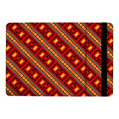 Distorted Stripes And Rectangles Pattern      			samsung Galaxy Tab Pro 10 1  Flip Case by LalyLauraFLM