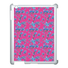 Floral Collage Revival Apple Ipad 3/4 Case (white) by dflcprints