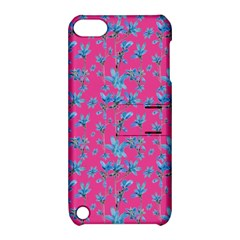 Floral Collage Revival Apple Ipod Touch 5 Hardshell Case With Stand by dflcprints
