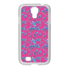 Floral Collage Revival Samsung Galaxy S4 I9500/ I9505 Case (white) by dflcprints