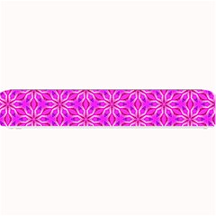 Pink Snowflakes Spinning In Winter Small Bar Mats by DianeClancy