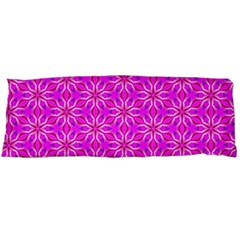 Pink Snowflakes Spinning In Winter Body Pillow Case (dakimakura) by DianeClancy