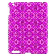 Pink Snowflakes Spinning In Winter Apple Ipad 3/4 Hardshell Case by DianeClancy