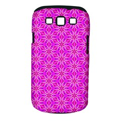 Pink Snowflakes Spinning In Winter Samsung Galaxy S Iii Classic Hardshell Case (pc+silicone) by DianeClancy