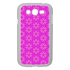 Pink Snowflakes Spinning In Winter Samsung Galaxy Grand Duos I9082 Case (white) by DianeClancy