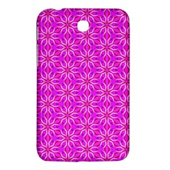 Pink Snowflakes Spinning In Winter Samsung Galaxy Tab 3 (7 ) P3200 Hardshell Case  by DianeClancy