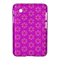 Pink Snowflakes Spinning In Winter Samsung Galaxy Tab 2 (7 ) P3100 Hardshell Case  by DianeClancy