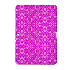 Pink Snowflakes Spinning In Winter Samsung Galaxy Tab 2 (10 1 ) P5100 Hardshell Case  by DianeClancy