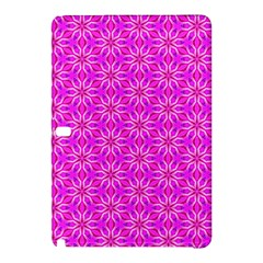 Pink Snowflakes Spinning In Winter Samsung Galaxy Tab Pro 12 2 Hardshell Case by DianeClancy