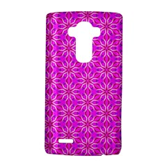 Pink Snowflakes Spinning In Winter Lg G4 Hardshell Case by DianeClancy