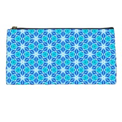 Aqua Hawaiian Stars Under A Night Sky Dance Pencil Cases by DianeClancy