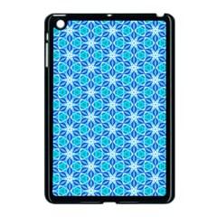 Aqua Hawaiian Stars Under A Night Sky Dance Apple Ipad Mini Case (black) by DianeClancy