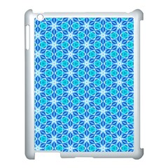 Aqua Hawaiian Stars Under A Night Sky Dance Apple Ipad 3/4 Case (white) by DianeClancy