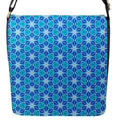 Aqua Hawaiian Stars Under A Night Sky Dance Flap Messenger Bag (s) by DianeClancy