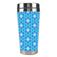 Aqua Hawaiian Stars Under A Night Sky Dance Stainless Steel Travel Tumblers by DianeClancy