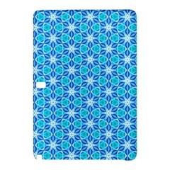 Aqua Hawaiian Stars Under A Night Sky Dance Samsung Galaxy Tab Pro 10 1 Hardshell Case by DianeClancy