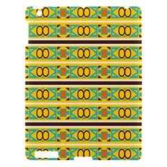 Circles and stripes pattern       			Apple iPad 3/4 Hardshell Case by LalyLauraFLM
