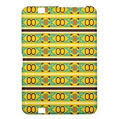 Circles And Stripes Pattern       			kindle Fire Hd 8 9  Hardshell Case by LalyLauraFLM