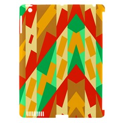 Angles         apple Ipad 3/4 Hardshell Case (compatible With Smart Cover) by LalyLauraFLM