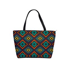 Rhombus Pattern          Classic Shoulder Handbag by LalyLauraFLM