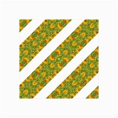Indian Floral Pattern Stripes Collage 12  X 18  by dflcprints