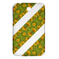Indian Floral Pattern Stripes Samsung Galaxy Tab 3 (7 ) P3200 Hardshell Case  by dflcprints