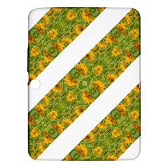 Indian Floral Pattern Stripes Samsung Galaxy Tab 3 (10 1 ) P5200 Hardshell Case  by dflcprints