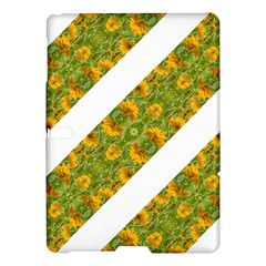 Indian Floral Pattern Stripes Samsung Galaxy Tab S (10 5 ) Hardshell Case  by dflcprints