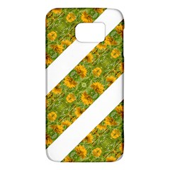 Indian Floral Pattern Stripes Galaxy S6 by dflcprints