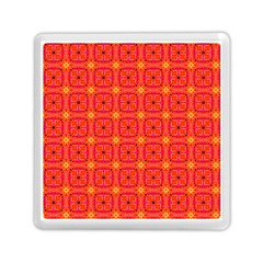 Peach Apricot Cinnamon Nutmeg Kitchen Modern Abstract Memory Card Reader (square)  by DianeClancy