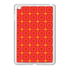 Peach Apricot Cinnamon Nutmeg Kitchen Modern Abstract Apple Ipad Mini Case (white) by DianeClancy