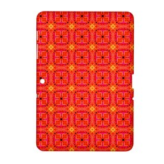 Peach Apricot Cinnamon Nutmeg Kitchen Modern Abstract Samsung Galaxy Tab 2 (10 1 ) P5100 Hardshell Case  by DianeClancy