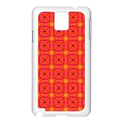 Peach Apricot Cinnamon Nutmeg Kitchen Modern Abstract Samsung Galaxy Note 3 N9005 Case (white) by DianeClancy