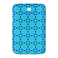 Vibrant Modern Abstract Lattice Aqua Blue Quilt Samsung Galaxy Note 8 0 N5100 Hardshell Case  by DianeClancy