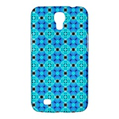 Vibrant Modern Abstract Lattice Aqua Blue Quilt Samsung Galaxy Mega 6 3  I9200 Hardshell Case by DianeClancy