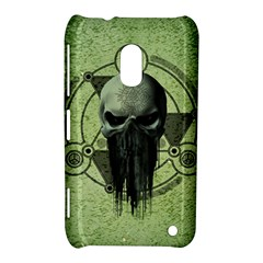 Awesome Green Skull Nokia Lumia 620 by FantasyWorld7