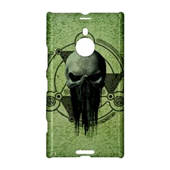 Awesome Green Skull Nokia Lumia 1520 by FantasyWorld7
