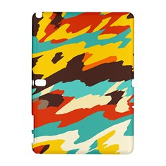 Wavy retro  texture           			Samsung Galaxy Note 10.1 (P600) Hardshell Case by LalyLauraFLM