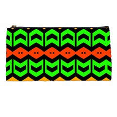 Rhombus And Other Shapes Pattern             	pencil Case by LalyLauraFLM