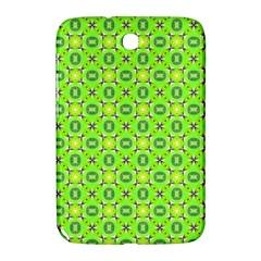 Vibrant Abstract Tropical Lime Foliage Lattice Samsung Galaxy Note 8 0 N5100 Hardshell Case  by DianeClancy