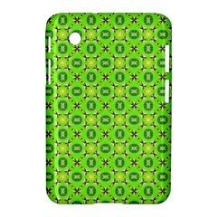 Vibrant Abstract Tropical Lime Foliage Lattice Samsung Galaxy Tab 2 (7 ) P3100 Hardshell Case  by DianeClancy